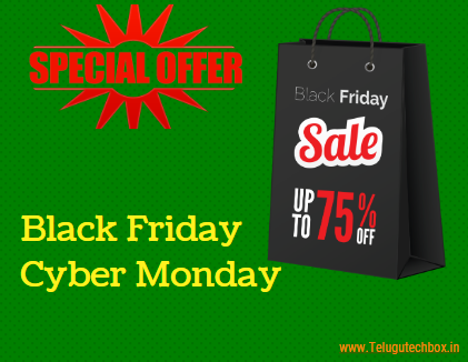 Black Friday & Cyber Monday 2019 |Indian Best Sales | Deals Telugu