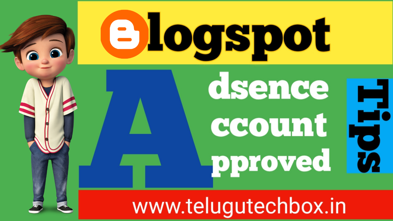 Blogger adsence approve tips